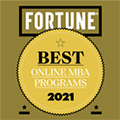 Fortune - Best Online MBA programs 2021