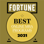 Fortune Best Online MBA programs 2021
