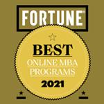 Fortune 2021 - Best online MBA programs