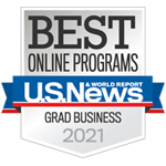 Best online graduate business programs 2021 from US News and world report