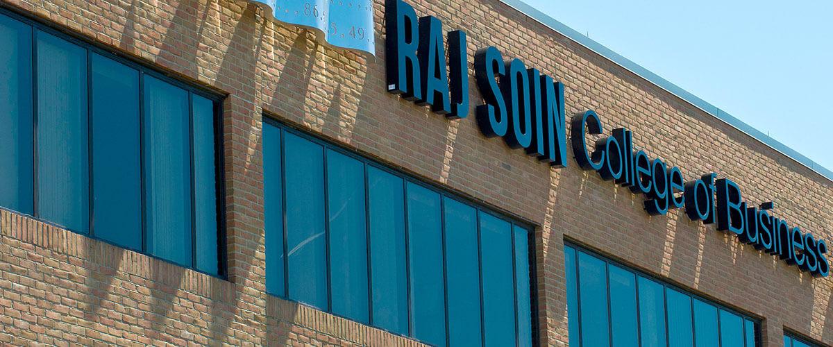 Raj Soin building title