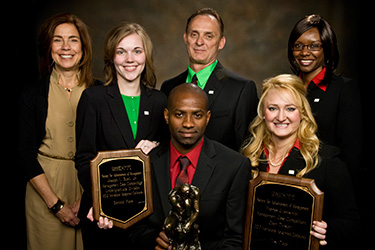 photo of society for the advancement of management case competition winners