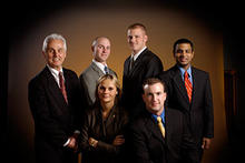 photo of 2005 accountants case competition team members