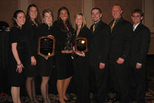 photo of case competition students