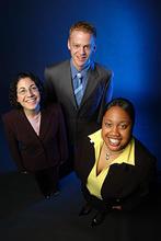 photo of Daniel Johnson, Danielle Thompson, and Ann Banna