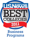 us news and world report best business programs logo